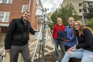 Faculty and Students Monitor Drought with NOAA Grant