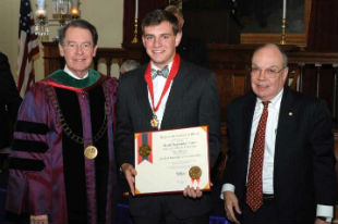 Lynch named Lincoln Student Laureate